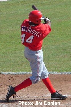 Rodriguez at 2008 Fall Instructionals. Photo: Jim Donten