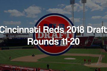 2018 Cincinnati Reds Major League Baseball Draft